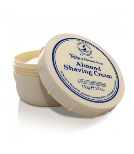 Taylor of Old Bond Street Shaving Cream - Almond