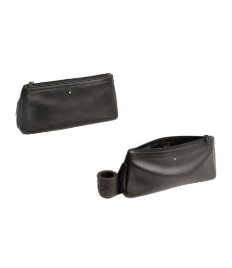 Alfred Dunhills White Spot Combination Pouch