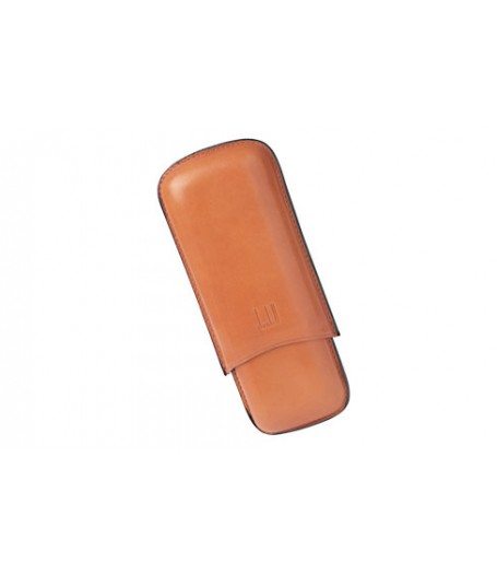 Alfred Dunhills White Spot Terracotta Cigar Case Corona Extra (2F)
