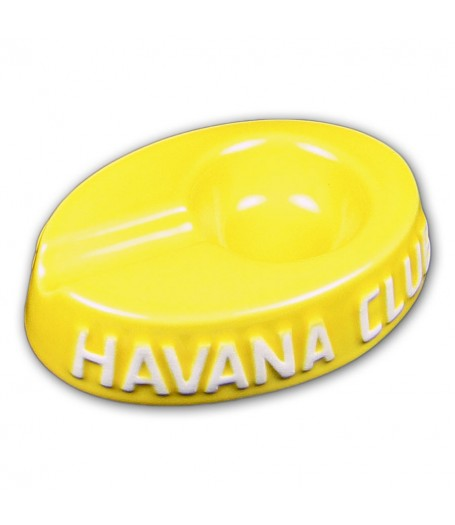 Havana Club Collection Ashtray - El Egoista - Corn Yellow
