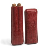 Romeo y Julieta Leather Case with 2 Churchill Cigars