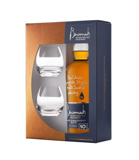 Benromach 10 Years Old Gift Set