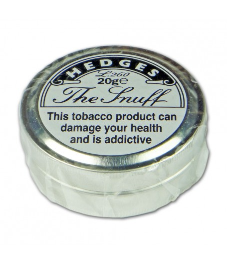 Hedges L260 'The Snuff' - Tin of 20g