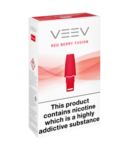 VEEV - Red Berry Fusion 11mg - Pack of 2