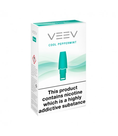 VEEV - Cool Peppermint 18mg - Pack of 2